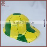 Factory Wholesale Worldcup Plastic Beret Hat Childrens Toys Round Cap