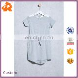 Hot Selling Baby 2 Year Old Girl Dress China Supplier Children Short Sleeves Summer Kid Clothes