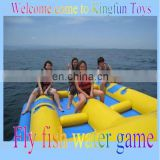 Inflatable fly fish, water fly fish games