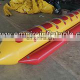 Beautiful hot sale Inflatable PVC banana boat W1014