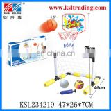 2 in 1 summer toy plastic water besketball/plastic toy waterborne football