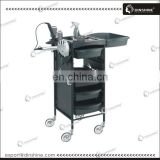 Hair salon plastic multifunction beauty salon rolling carts