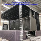 12 m  led mobile stage trailer truck  for roadshow