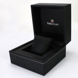 2020 New Design Elegant Luxury Black Leather Watch Box  With Colors Printing Logo Urbrand