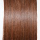 straight style 55Cm single color 5 clips in synthetic hair extension 100g-120g matt fiber 5pcs/lot