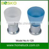 Zinc bottom colorful acrylic drawer knobs plastic drawer knobs