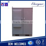 Battery cabinet/battery rack outdoor cabinet SK-419/2 doors style cabinet with cooler/air conditioner