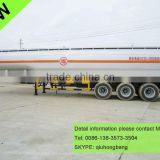 China carbon steel 40000-60000L 3 axles stainless steel oil tank trailer 0086-13635733504