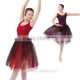 New Dansgirl Long Ballet Tutus Performance Ballet Dress Adult Lace Dance Dress