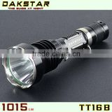 DAKSTAR TT16B 1150LM CREE XML T6 18650 Rechargeable High Power Aluminum Police Emergency LED Flashlight