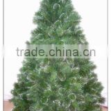 Hot Sell Green Custom Artificial Christmas Tree with Balsam Pine needle for evergreen decoration