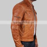 classic latest fashion genuine men leather jacket Ackermans brands