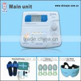 CE approved electro physiotherapy device with foot massager EA-F24