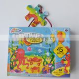 Customized Top Safety Material DIY Baby Jigsaw Puzzle, Jigsaw Puzzle Game, Games Puzzle