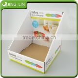 Kitchen ware corrugated display box;Custom Small Cardboard gift box; Printed Corrugated cardboard box