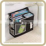 Black Box Bedside Caddy Home Storage Bag for Magazines Sunglasses TV accessory