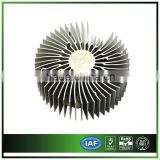 Round sunflower Aluminum heat sink for LED buying in bulk wholesale