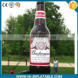 Attractive Inflatable Moving Cartoon Bottle/Inflatable Replicas Model/ Inflatable Champagne Bottle