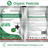 organic pesticide anti lepidoptera and pierisrapae granulosis and bacillus thuringiensis WP