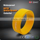 Printed Silicone Wristbands NFC Wristband for Bowling Centers