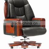 Comfortable Black High Back Executive Boss Leather Office Chair