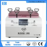 15 inch 2 in1 bulit-in vacuum pump and compressor bubble revoming and oca laminating machine equipment device