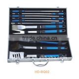 11 pcs BBQ set with aluminium case