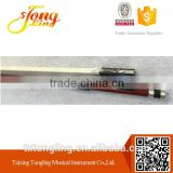 Ebony Violin Bow With Flower Patten violin bow hair