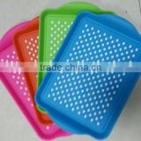 high quality rectangle anti skid kitchen accessories plastic cutlery tray                                                                         Quality Choice