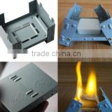 Camping stove portable folding stove portable cooker / outdoor small stove / solid alcohol stove