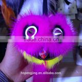 Hot Fashion Cute Luxury Plush Fur Toy/fur bag keychain made by real mink fur and real lamb fur