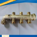 3 ways system Brass Manifold/water manifold/2 way manifold/3 way manifold/brass fittings
