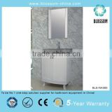 Wooden freestanding bathroom vanity set mirrored bathroom cabinet combo                                                                         Quality Choice