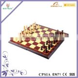Magnetic Chess Set Travel Mini Magnetic Chess With Foldable Chess Board
