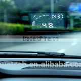 Mustech Car HUD Vehicle-mounted Head Up Display System OBD Overspeed Warning Fuel Consumption
