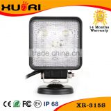 15w 27w 18w 40w 48w 50w 60w 6000k Led Work Light 12V 24v CE, RoHs, IP67 Black/White Color