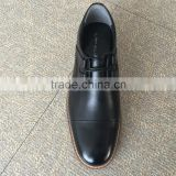 korea latest design black mens formal style genuine leather dress shoes