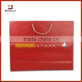 Luxury red gift paper bag packaging wine paper bag printing custom                                                                         Quality Choice