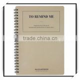 four lined paper line notebook custom printing 2016