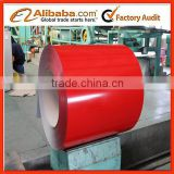 2016 cold rolled prepainted galvanized steel coil/Pre painted hot dip 55% alu zink coated steel in coil for building material