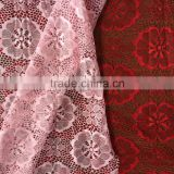 fresh brilliant french nylon spandex lace fabric for bride wedding dress and garment use