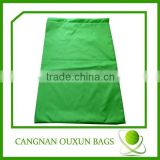 Fluorescent green water soluble laundry bag