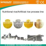 Functional/Nutritional/Protein/Artifical Rice Machine Extruder/Instant Nutritional Rice Making Machine