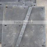 rare earth oily nylon series-single/double straight bars lining plate/liner/scaleboard.
