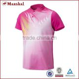 2015 New badminton shirt fully sublimated custom volleyball jersey design