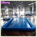 custom inflatable square swimming pool for kids, three layers inflatable baby spa pool for sale, inflatable water pool toy