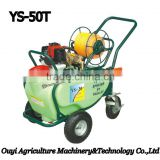 Alibaba China Supplier Agriculture Plastic Water Tank Trolley Power Sprayer Machine with Gasoline Engine Online Shopping India