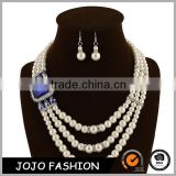 New Fashion weedding pearl pearl jewelry sets for women accessories                                                                                                         Supplier's Choice