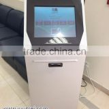19 Inch Automatic Self-service Queue System Ticket Dispenser