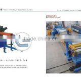 Gutter making machine and downspout roll forming machine
